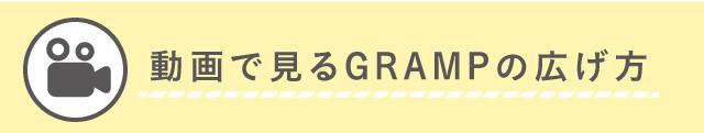 動画で見るGRAMPの広げ方