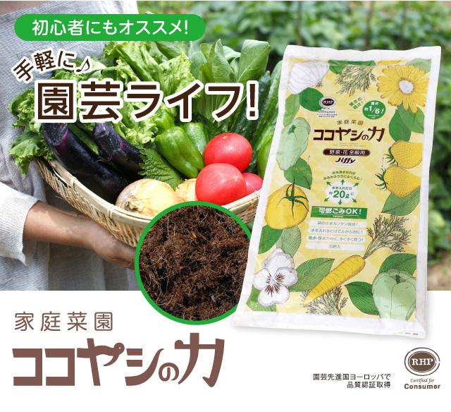 家庭菜園ココヤシの力(土)